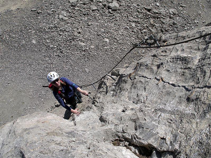 Klettersteig Graustock : Klettersteig